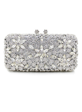Elegant/Gorgeous/Refined Crystal/ Rhinestone Clutches/Bridal Purse/Luxury Clutches/Evening Bags