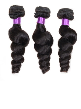 4A Non remy Loose Human Hair Human Hair Weave (Sold in a single piece) 100g