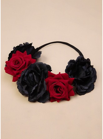 Fløjl Flower Headband