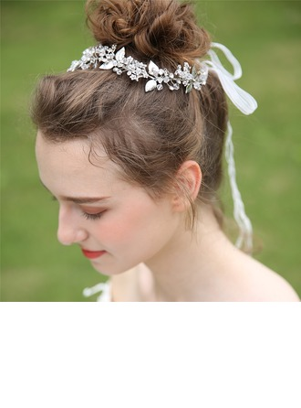 Ladies Beautiful Crystal/Rhinestone/Alloy Headbands With Rhinestone/Crystal (Sold in single piece)