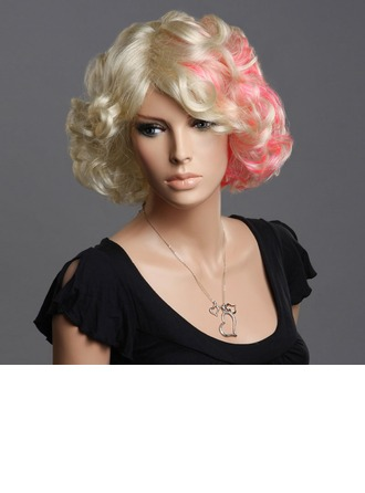 Wavy Synthetic Hair Capless Wigs 100g