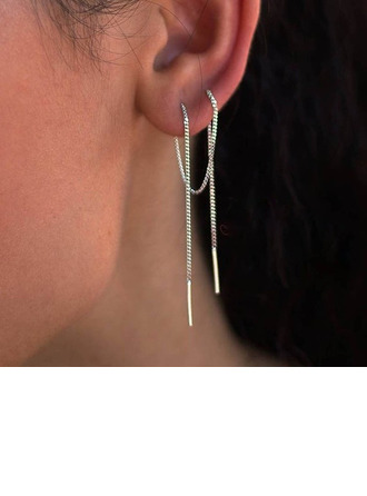 Classic Silver Women's Fashion Earrings