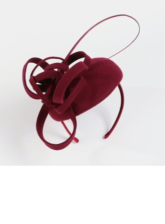 Ladies ' Vintage Uld med Fjer Fascinators/Tea Party Hats