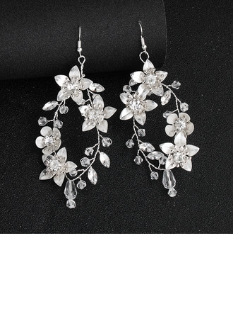 Ladies' Elegant Rhinestones/Crystal Earrings For Bride/For Bridesmaid/For Friends/For Couple