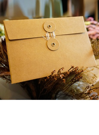 Modern Style/Fairytale Style Side Fold Envelopes (Set of 20)