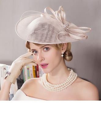 Damen Glamourös Batist Kopfschmuck/Kentucky Derby Hüte/Tea Party Hüte
