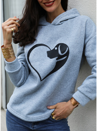 La copie Animale Manches Longues Sweat-shirt