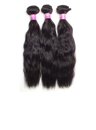 4A Wavy Human Hair Hair Weaves/Weft Hair Extensions (Sold in a single piece)