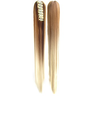 Straight Synthetic Hair Ponytails (Sold in a single piece) 180g