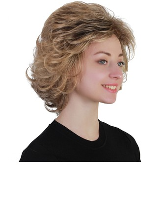 Curly Synthetic Hair Synthetic Wigs 140g