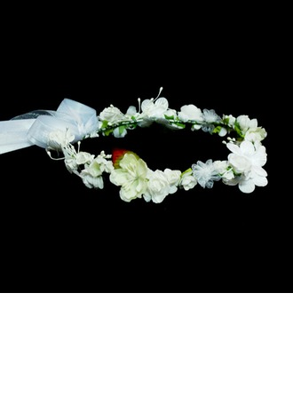 Lovely Artificial Silk Flowers & Feathers