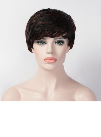 Straight Pixie Capless Synthetic Wigs
