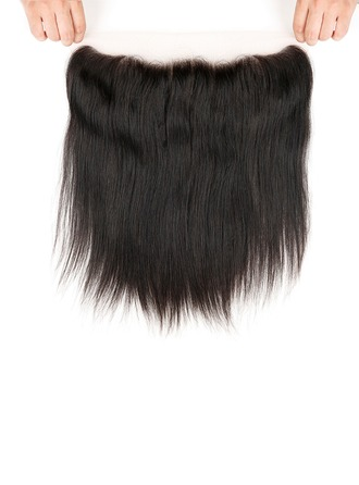 "13""*4"" 4A Non remy Straight Human Hair Closure (Sold in a single piece) 70g"
