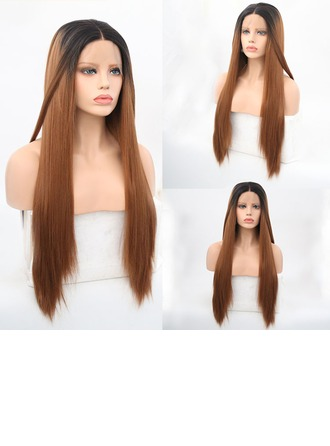 Straight Synthetic Hair Lace Front Wigs