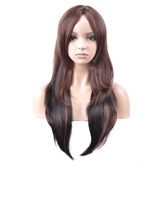 Body Wavy Synthetic Hair Capless Wigs 260g