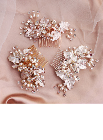 Ladies Alloy Combs & Barrettes (Sold in single piece)