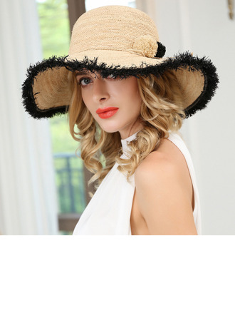 Ladies' Simple/Fancy Raffia Straw Hats/Beach/Sun Hats