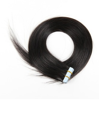 5A Virgin/remy Straight Human Hair Tape in Hair Extensions 20PCS 50g