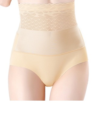 Women Elegant/Charming Chinlon/Nylon Breathability/Butt Lift High Waist Panties Shapewear