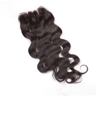 "4""*4"" 5A Body Human Hair Closure (Sold in a single piece)"