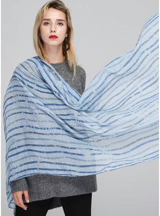 Striped Light Weight Cotton Scarf