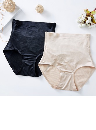 Women Feminine/Classic/Casual Chinlon/Nylon High Waist Panties/Waist Cinchers Shapewear