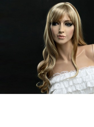 Loose Wavy Synthetic Hair Capless Wigs 290g