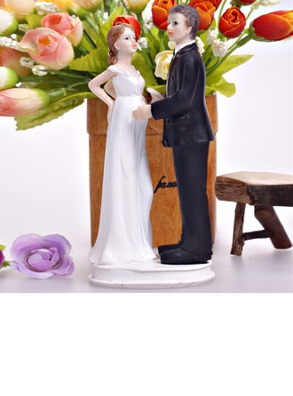 Baby On The Way Resin Wedding Cake Topper