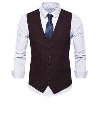 Classic Wool Cotton Men's Vest