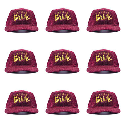 Bridesmaid Gifts - Solid Color Attractive Polyester Cotton Baseball Cap