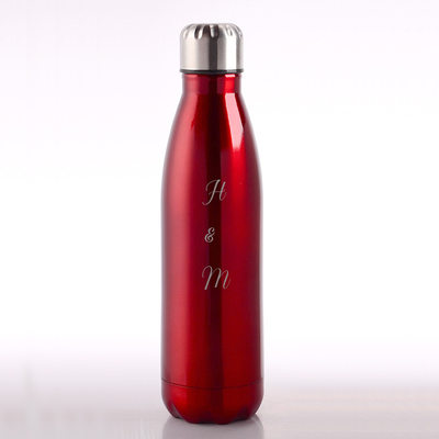 Groom Gifts - Personalized Solid Color Stainless Steel Tumbler