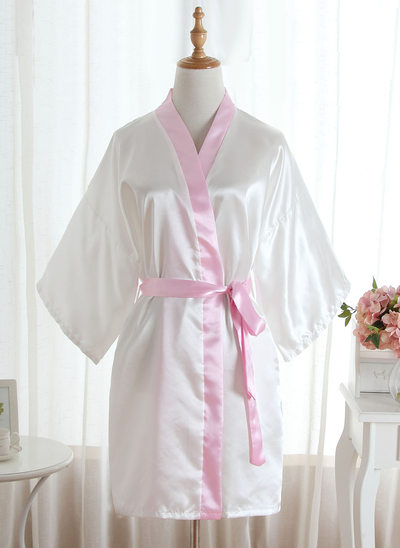 Brudepike Silke Satin robes