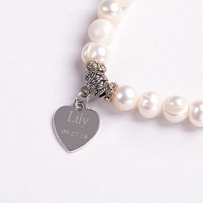 Bride Gifts - Personalized Sexy Imitation Pearls Bracelet (255184442)
