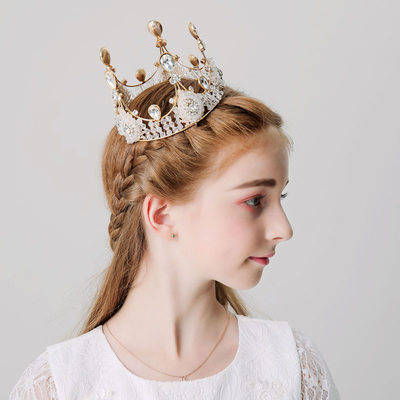 mit Strasssteine Tiaras (Sold in a single piece)