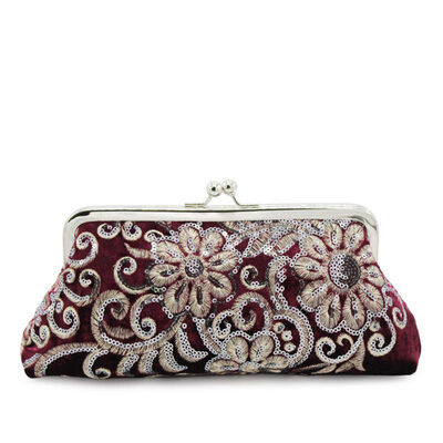 Elegant/Attractive/Dreamlike Suede Top Handle Bags/Bridal Purse/Evening Bags