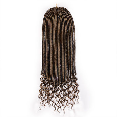 Dread Locks / Faux Locs Synthetisches Haar Zöpfe 24 Stränge pro Packung 100g