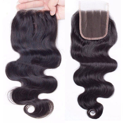 "4""*4"" 4A Non remy Body Human Hair Closure (Sold in a single piece) 40g"