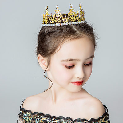 Alloy/Crystal With Imitation Pearls Headbands (Sold in a single piece)