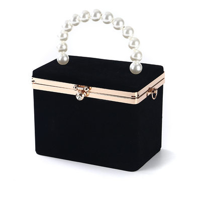 Elegant Velvet Clutches/Top Handle Bags