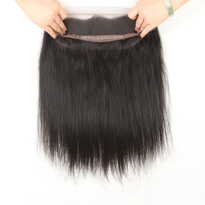 360 Frontal 4A Non remy Straight Human Hair Closure (Sold in a single piece) 80g