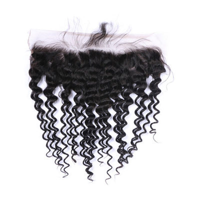 5A Virgin/remy Curly Human Hair Closure (Sold in a single piece) 70g