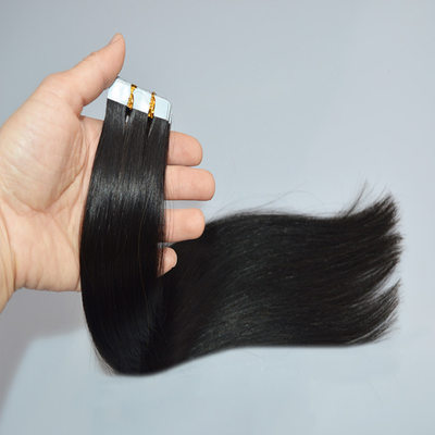 4A Non remy Straight Human Hair Tape in Hair Extensions 10PCS 50g