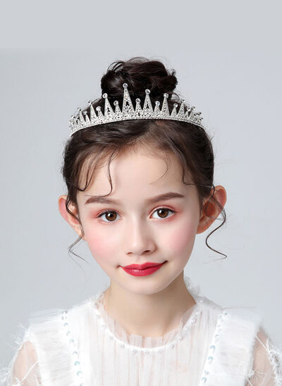 Flower Girl Alloy/Rhinestones Tiaras