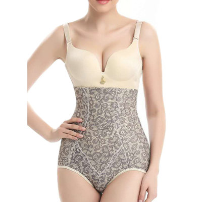 Women Classic/Elegant Chinlon/Nylon Breathability/Butt Lift High Waist Panties/Waist Cinchers Shapewear
