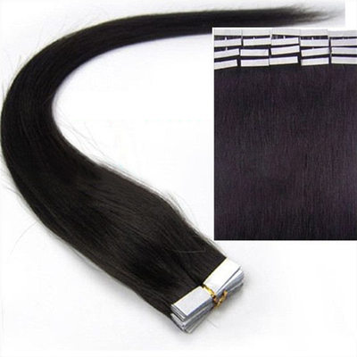 5A Virgin/remy Straight Human Hair Tape in Hair Extensions 20PCS 30g