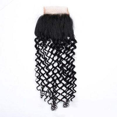 "4""*4"" 4A Non remy Water Wave Human Hair Closure (Sold in a single piece) 30g"