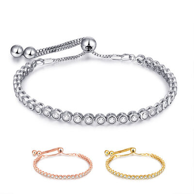 Anti-oxidation Link & Chain Bridesmaid Bracelets Bolo Bracelets -