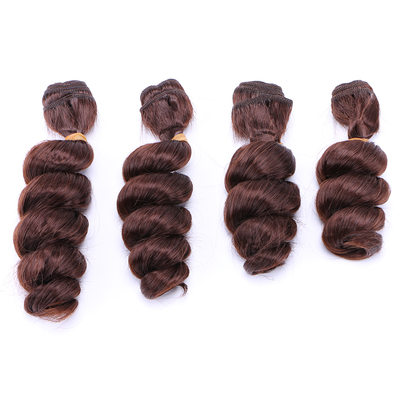 Loose Synthetic Hair Human Hair Weave (Sold in a single piece) 50g