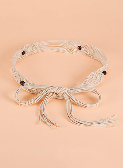 Elegant/Gorgeous/Exquisite PU Belt With Beading