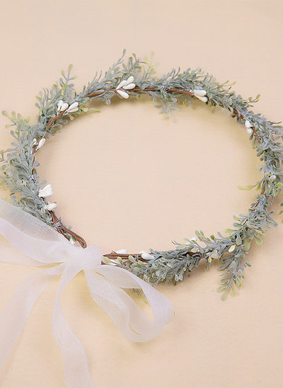 Plastic Flower Headband